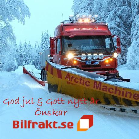 God jul & Gott nytt år önskar Bilfrakt