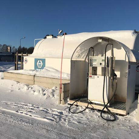 Ny tank i Skellefteå