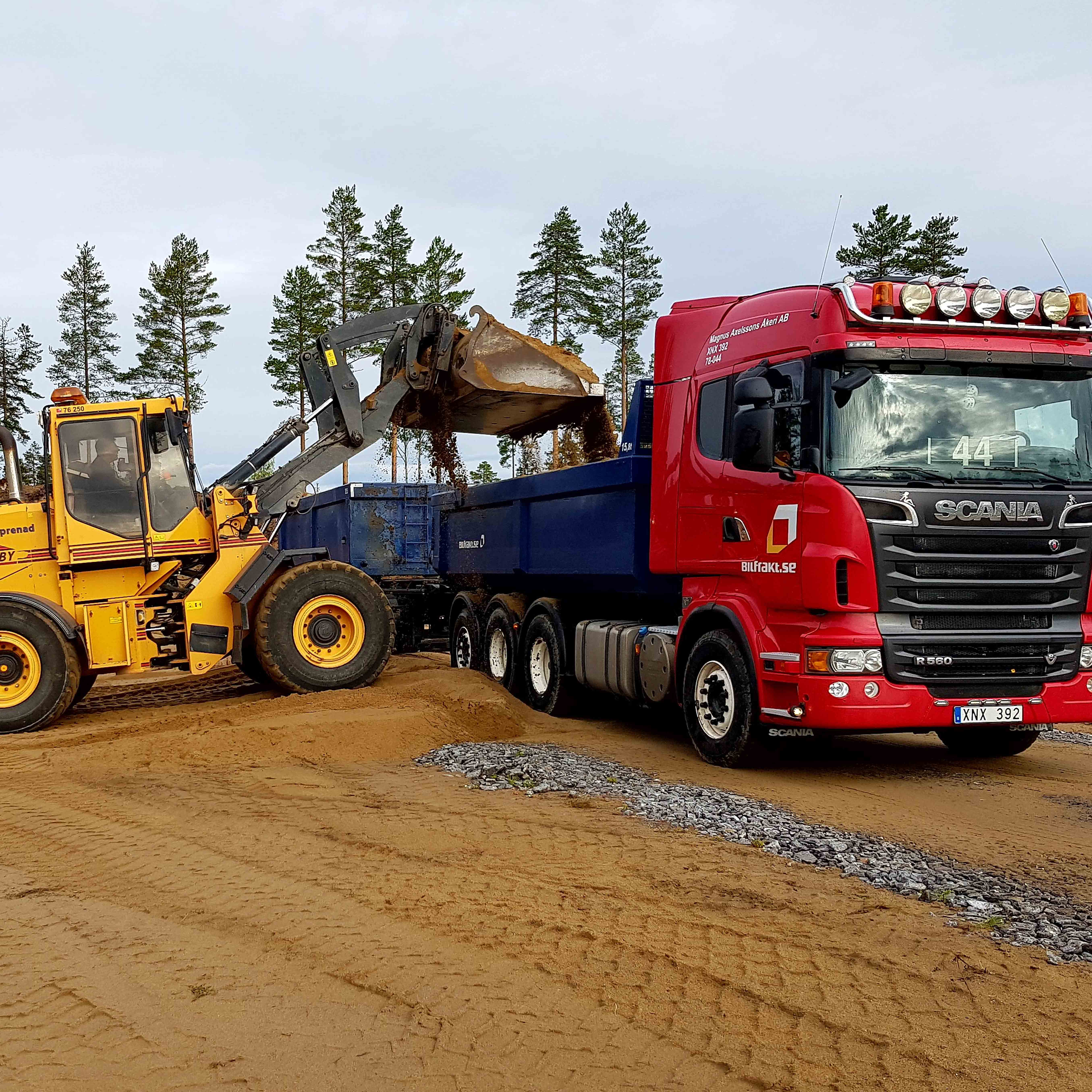 Bilfrakt Bothnia AB söker sommarvikarie på transportledningen